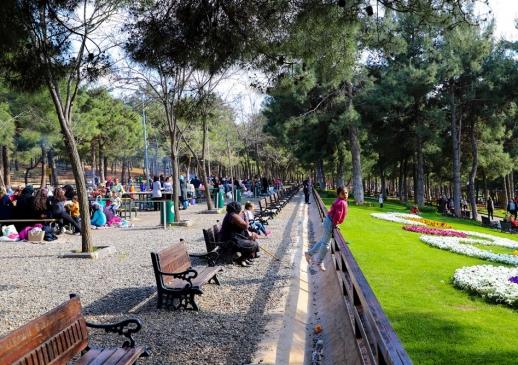 Dülük Tabiat Parkından görüntüler