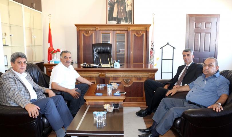 Nizip Emniyet Müdürü Mustafa Yaman'dan NTO'ya Ziyaret
