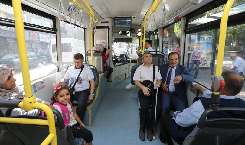 Toplu taşımada engellilerle uyumluluk arttırılacak
