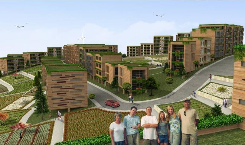 Gaziantep ekolojik kent projesi markalaştı!