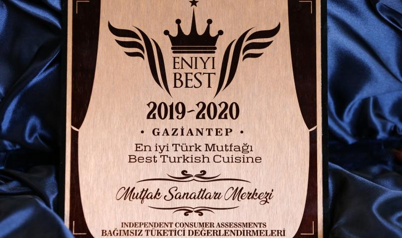 """MSM """"En İyi Türk Mutfağı"""" seçildi"""