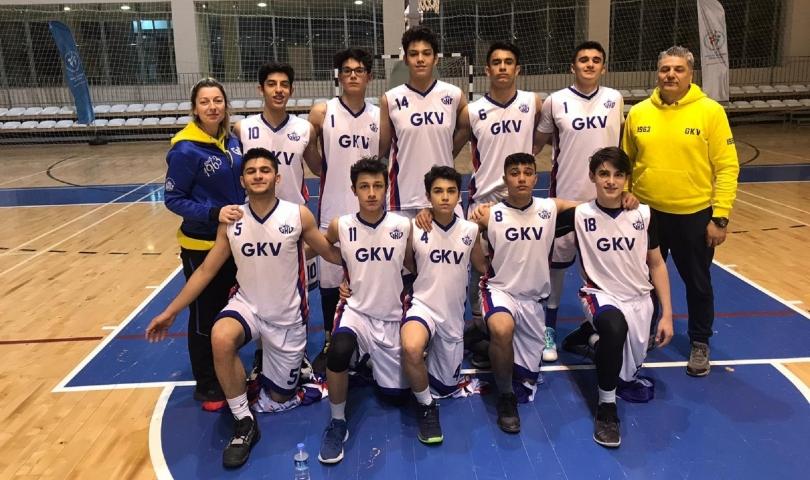 GKV Basketbol Takımı Türkiye yarı finallerinde