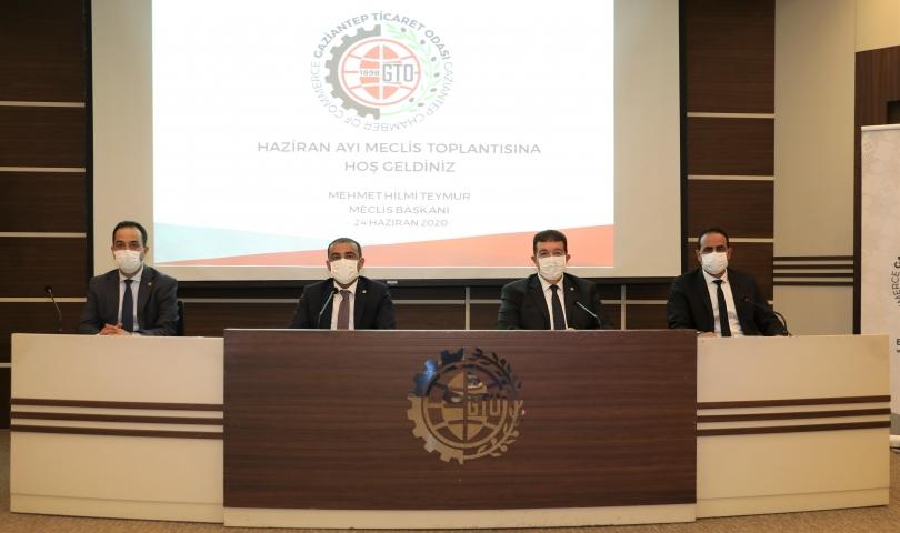 GTO'da haziran ayı meclis toplantısı yapıldı