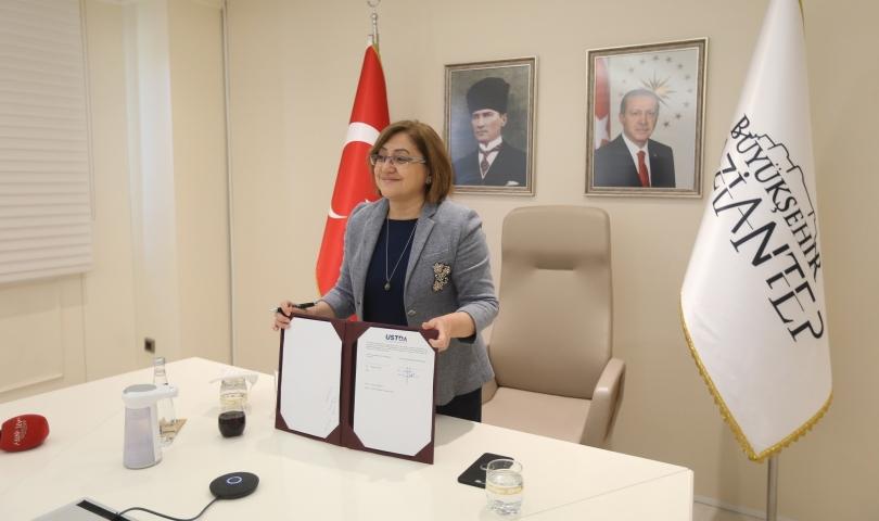 Gaziantep Akıllı Şehir Protokol Töreni